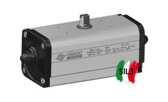 DAN0180411S Dubbelwerkende draaicilinder