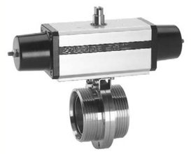 S492 - Vlinderklep DIN11851 PN6   SR