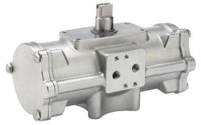 DA RVS Actuator / draaicilinder OMAL